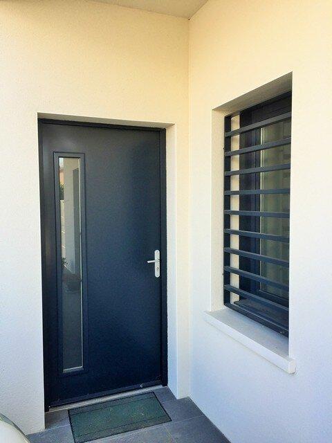Porte entrée en aluminium Toulouse