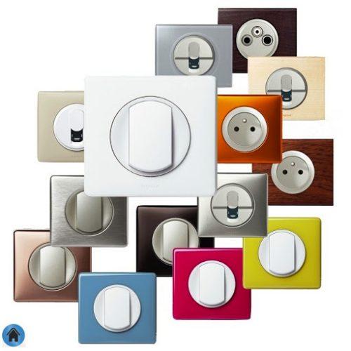 design prise interrupteur legrand