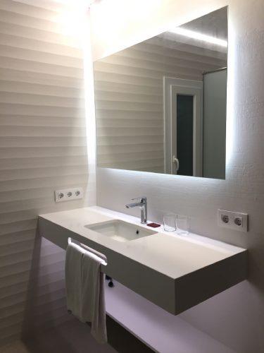 Eclairage de miroir à Toulouse