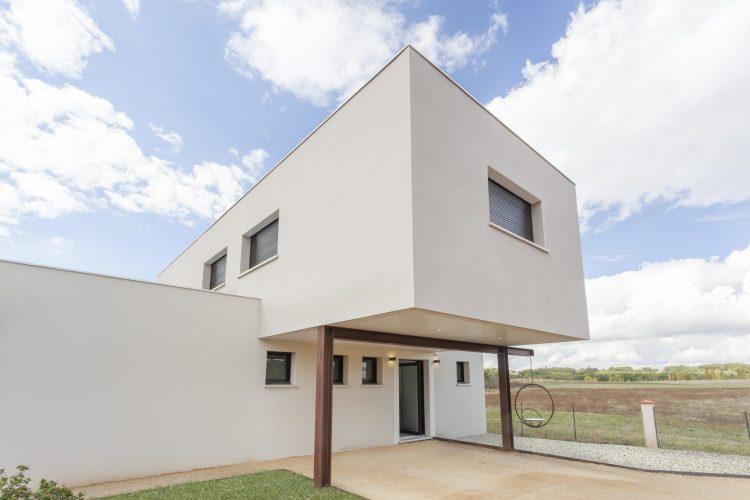 Menuiserie en aluminium villa région Toulousaine